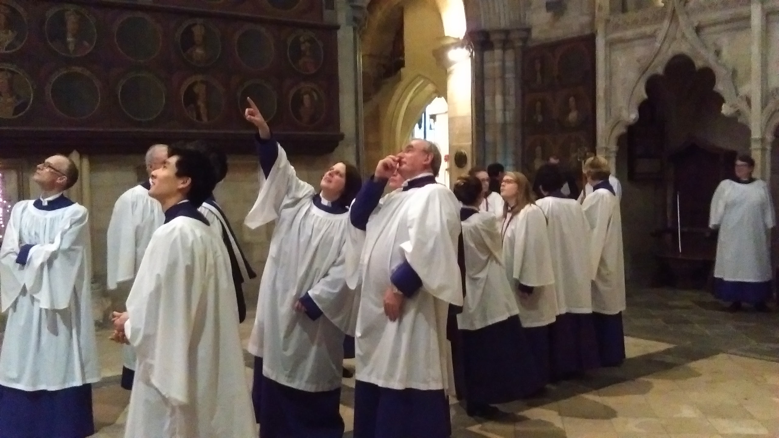 St Michael's Choir in Chichester Cathedral